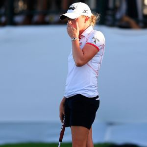 Stacy Lewis finished second in the season-opening event in the Bahamas and is eager to get back into competition.