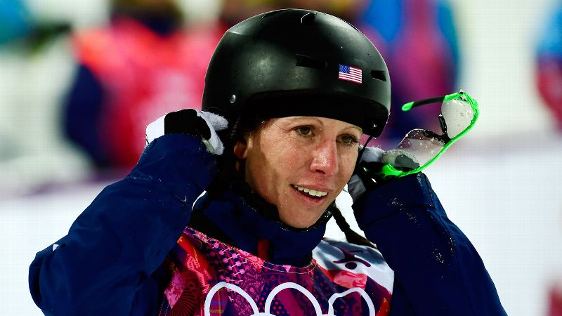 Emily Cook's eighth-place finish Friday was her best showing at an Olympics.