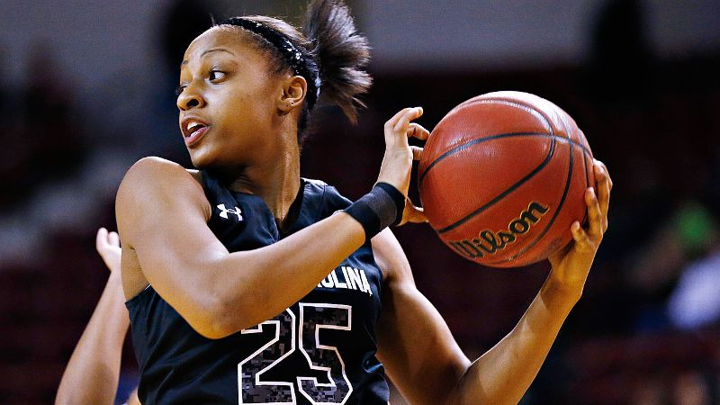 Mitchell leads South Carolina in scoring at 15.3 points per game, shooting 52.5 percent from the field and 55.1 percent from the 3-point line. She has had a hand in more than 30 percent of South Carolina's scoring this season. -- iespnW's Michelle Smith/i