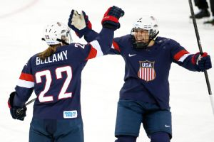 The U.S. punched its ticket to the gold-medal game with a dominant win over Sweden on Monday.