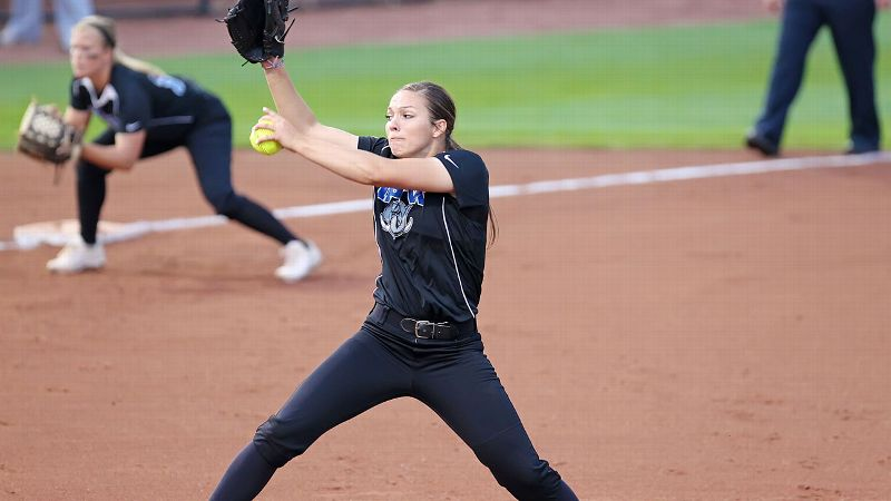 Miranda Kramer isn't the hardest thrower, but her 0.72 ERA shows she knows how to get batters out.