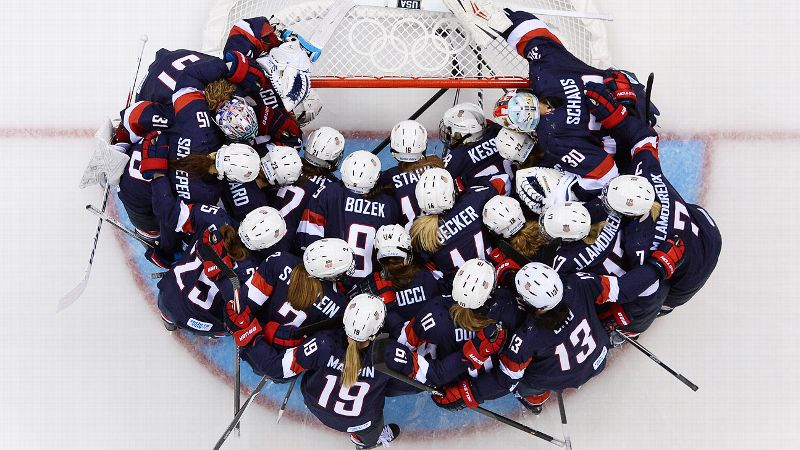 Loser: USA Women's Hockey