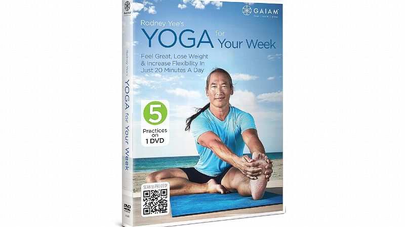 Looking to add some yoga into your weekly routine? Yoga for Your Week (14.98) is the latest offering from renowned yoga instructor Rodney Yee. He offers five yoga practices to help get you through the week. Each practice focuses on different aspects of the mind and body: mental focus, energy, flexibility, strength and relaxation. Since each segment is only 20 minutes, it's easy to fit a little bit of yoga into your day. Who wouldn't benefit from that?
