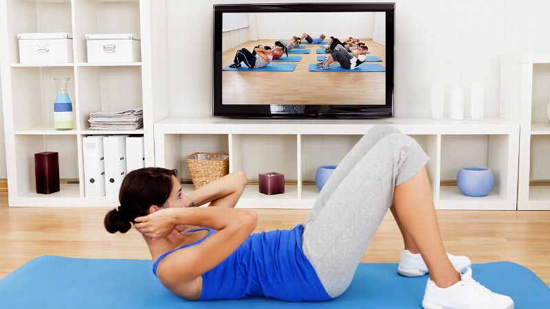 Can't get to the gym? Traveling? Want to work out in the comfort of your own home? Fitness videos offer a great alternative to the gym and allow iyou/i to control the conditions -- time, place and price. These videos have come a long way since the Jane Fonda Workout and feature some of the hottest trainers in the country. Here are five workouts that will exercise your body and mind. (As always, consult a doctor before you begin any new exercise program.)iBy Christine Yu, special to espnW.com/i