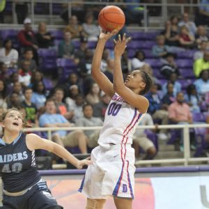 Tiara Davenport is  hoping to lead Duncanville to its third straight state title before heading off to Louisiana Tech.