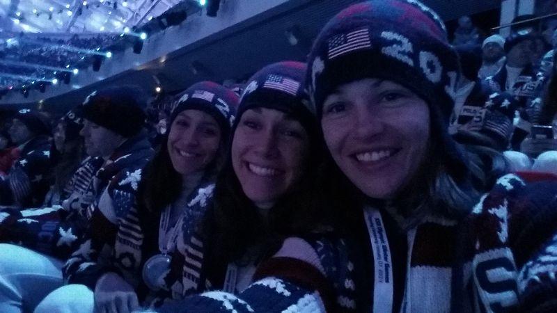 USA ski jumpers