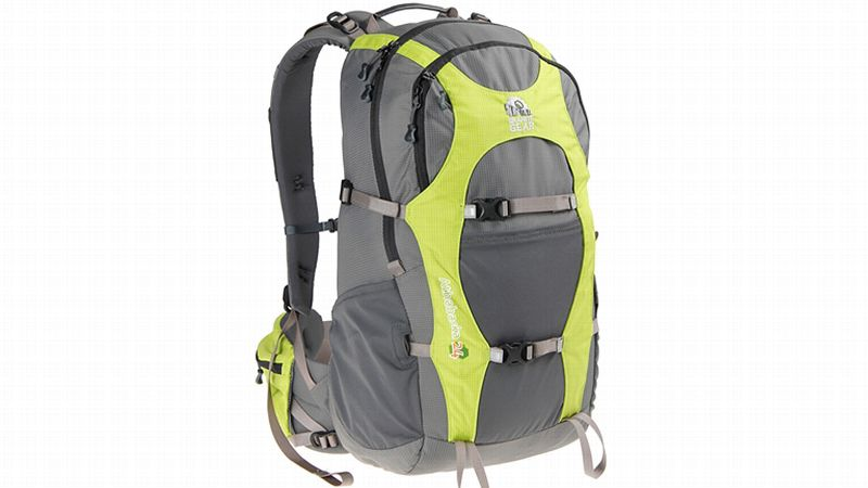Perfect for day hiking, fast packing, or biking, the Athabasca can hold up to 30 pounds, offering a bit more substantial pack. With a built-in hydration compatible sleeve, this pack allows you to utilize a reservoir of your choice. Also including twin power-mesh side pockets for additional water bottles and 24-liter capacity, you'll be able to fit everything you need for a day out on the trails.