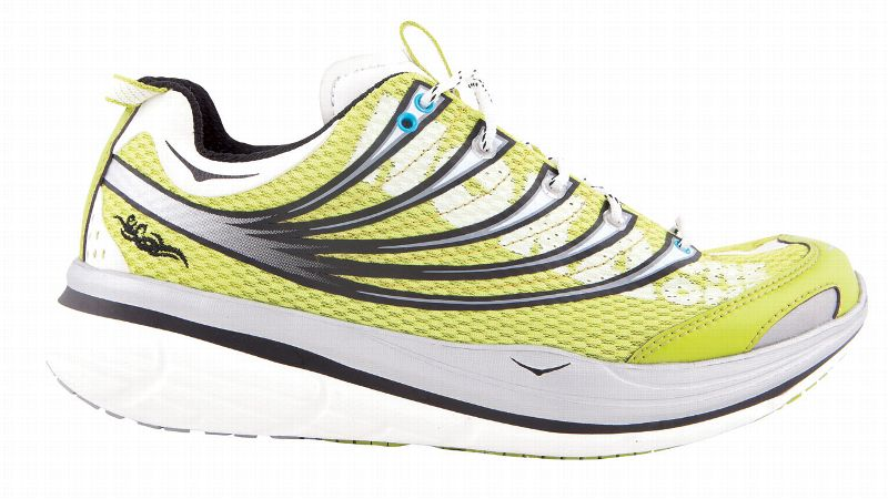 Hoka One One's proprietary cushioning technology makes its shoes supremely soft.  Despite the beefy midsole, the Kailua Trail weighs just 9.3 ounces, making it appropriate for trail newbies and veterans alike. With a 5mm heel-to-toe offset and a design that guides your foot through the gait cycle, this model will swallow up rocks without feeling bulky.