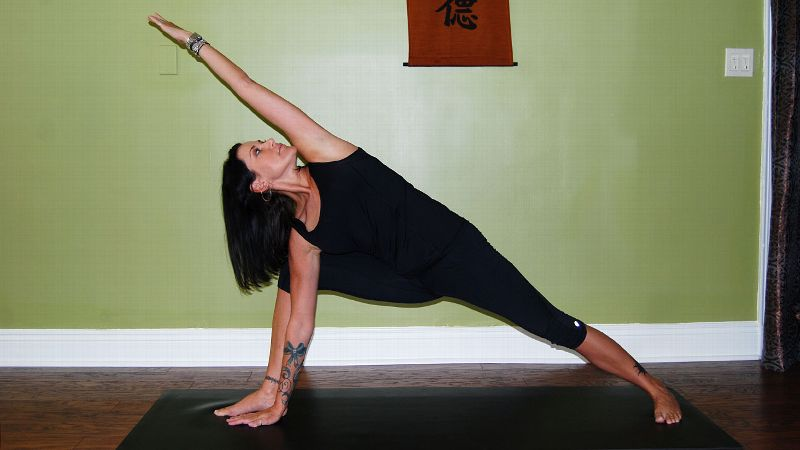 Right Angle Pose