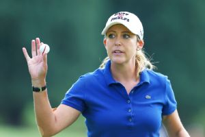 The LPGA has full-time daycare at all U.S. tournaments, helping tour moms such as Cristie Kerr.