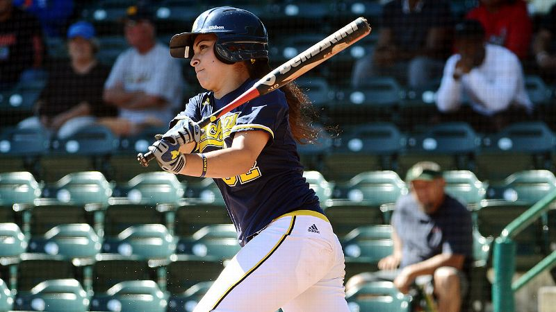 Michigan shortstop Sierra Romero is making a strong push in the race for player of the year.