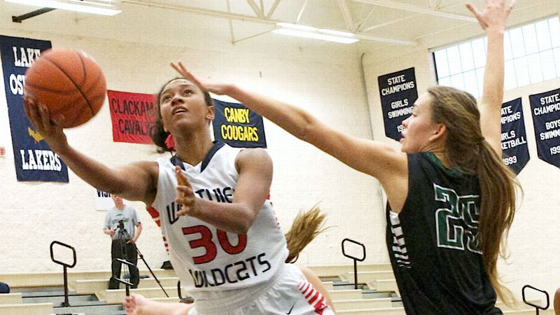 One of the most dominant players in Oregon history, Nared scored 30 points and grabbed 13 rebounds in her final game for Westview. On the McDonald's West squad, the 6-1 guard will be going against future Tennessee teammate Alexa Middleton.