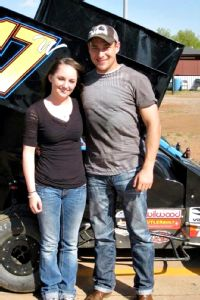 Harli White and Donnie Ray Crawford met after her accident and supported each other while competing on the same racing circuit.