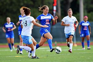 Kansas City's Lauren Holiday led the NWSL with 12 goals, and her team also is threat to win it all.