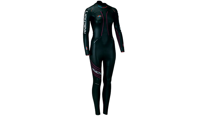 The high-quality neoprene and the suit's buoyancy are designed to optimize body position in the water to reduce drag and improve speed. Eight years ago, they introduced their Femme Fit wetsuits -- designed for female athletes. They offer a wide range of sizes, and sizing focuses on critical fit areas like bust, torso, wrists and ankles. The lower neckline offers more comfort during the swim and less chafing. The extended zipper length means the wetsuit accommodates a wider hip, making it easier to slip on and off. It's flexible in just the right spots so that your movement isn't restricted.