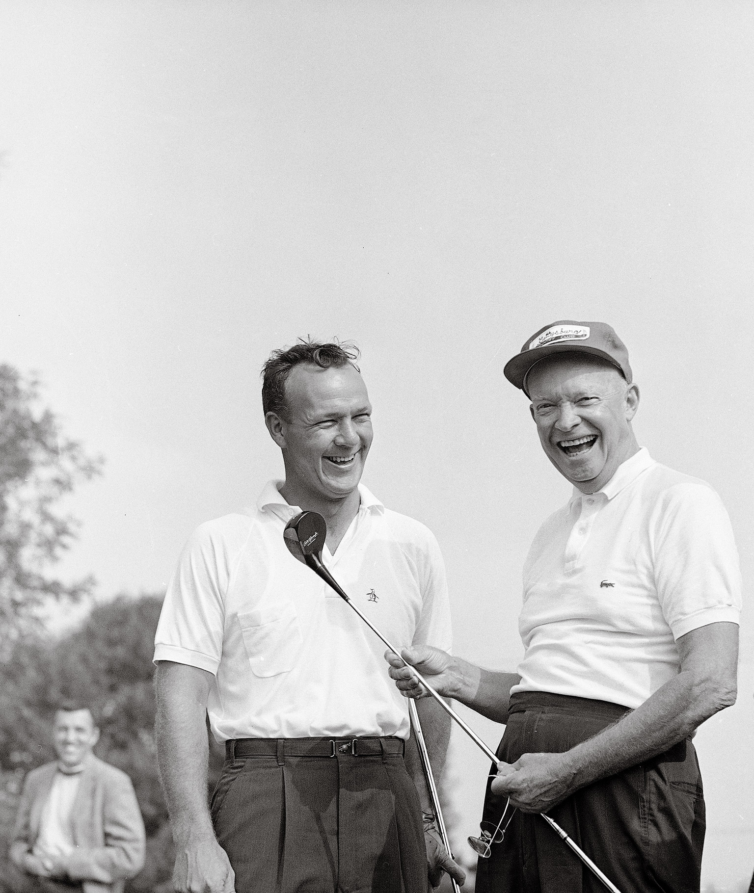 Palmer with Eisenhower