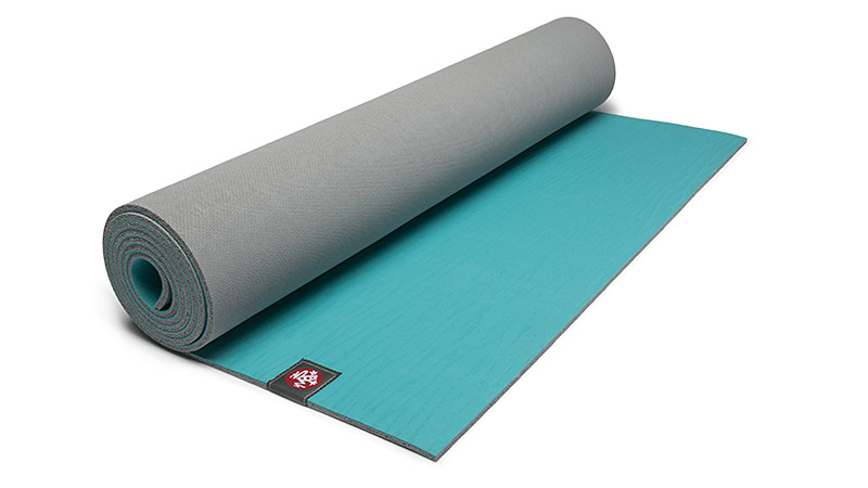 Make an impact in the studio and not on the Earth with this yoga mat that offers a comfortable, grippy surface for your practice and won't leave anything in a landfill. That's because it's made from biodegradable, non-Amazon harvested natural tree rubber. No toxic foaming agents and plasticizers are used in the softening process.