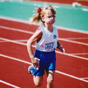 Charlotte Brown competed in her first regional track meet when she was 6.