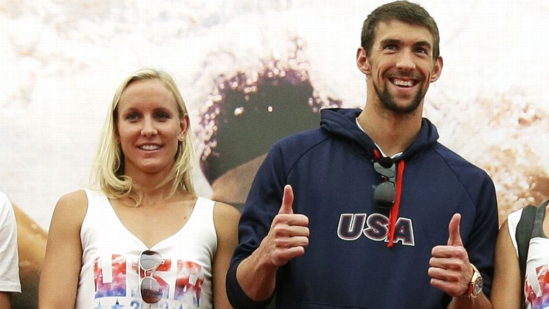 Jessica Hardy has been on the U.S. national team with Michael Phelps since 2005.