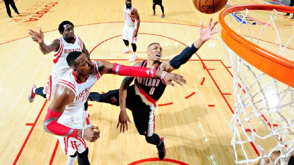 There's been no shortage of drama in the Blazers-Rockets series.