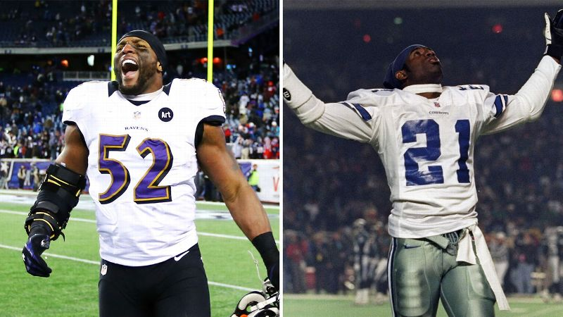 Loyal: Ray Lewis | Disloyal: Deion Sanders
