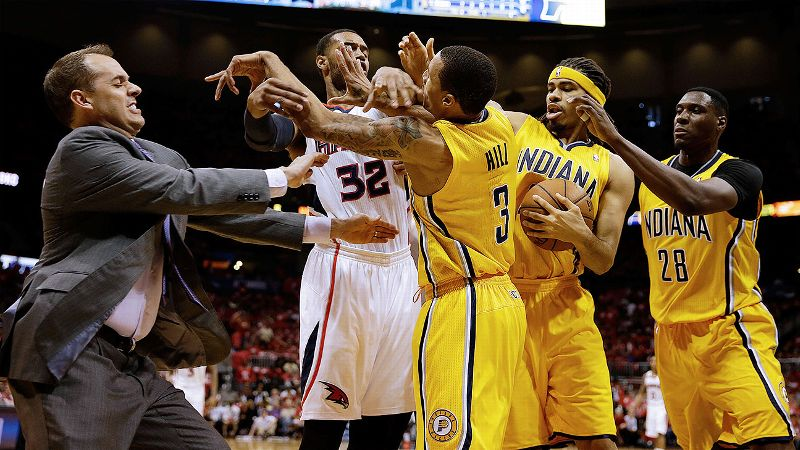 Pacers, Hawks