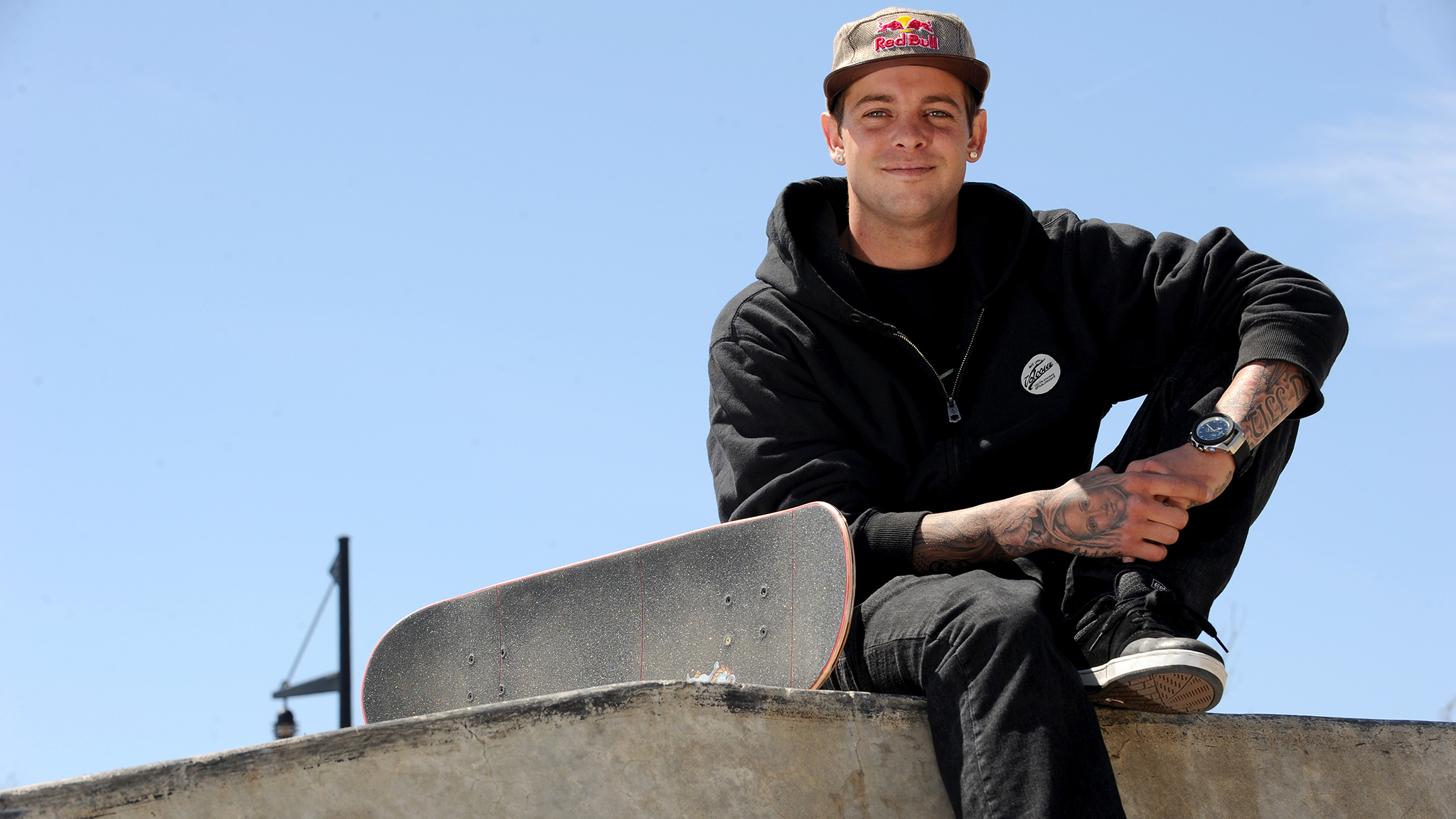 Ryan Sheckler in New York City to promote his new sponsor Gillette.