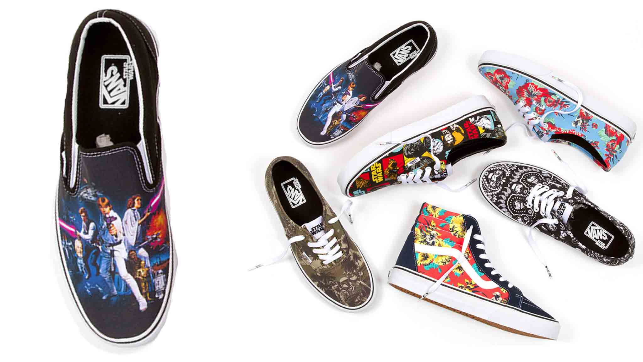 Introducing the new Star Wars collection from Vans, available June 1.