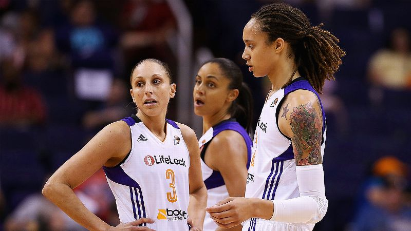 Experts thought Phoenix was poised for a championship run in 2013. But injuries to the likes of Penny Taylor and Brittney Griner -- and the star rookie's adjustment to the pro game -- tempered those expectations. Now, though, the Mercury are again considered one of the front-runners to challenge Minnesota at the top of the standings. Diana Taurasi leads the way, and is one of four returners who averaged double-figure scoring last season. Griner worked diligently in the offseason and Taylor -- who has yet to play this preseason after missing all of 2012 and all but 10 games of 2013 because of injuries -- is said to be making progress in practice. The Mercury once again have an Australian flavor. Former Australian Olympian Sandy Brondello is in her first season as the Mercury's head coach (she also was an assistant on the UMMC Ekaterinburg team that Taurasi helped lead to the Russian title), and both Taylor and guard Erin Phillips -- acquired via a trade with Indiana in March -- are from  Australia, too.