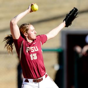 Florida State's Lacey Waldrop may be the best pitcher in the country.