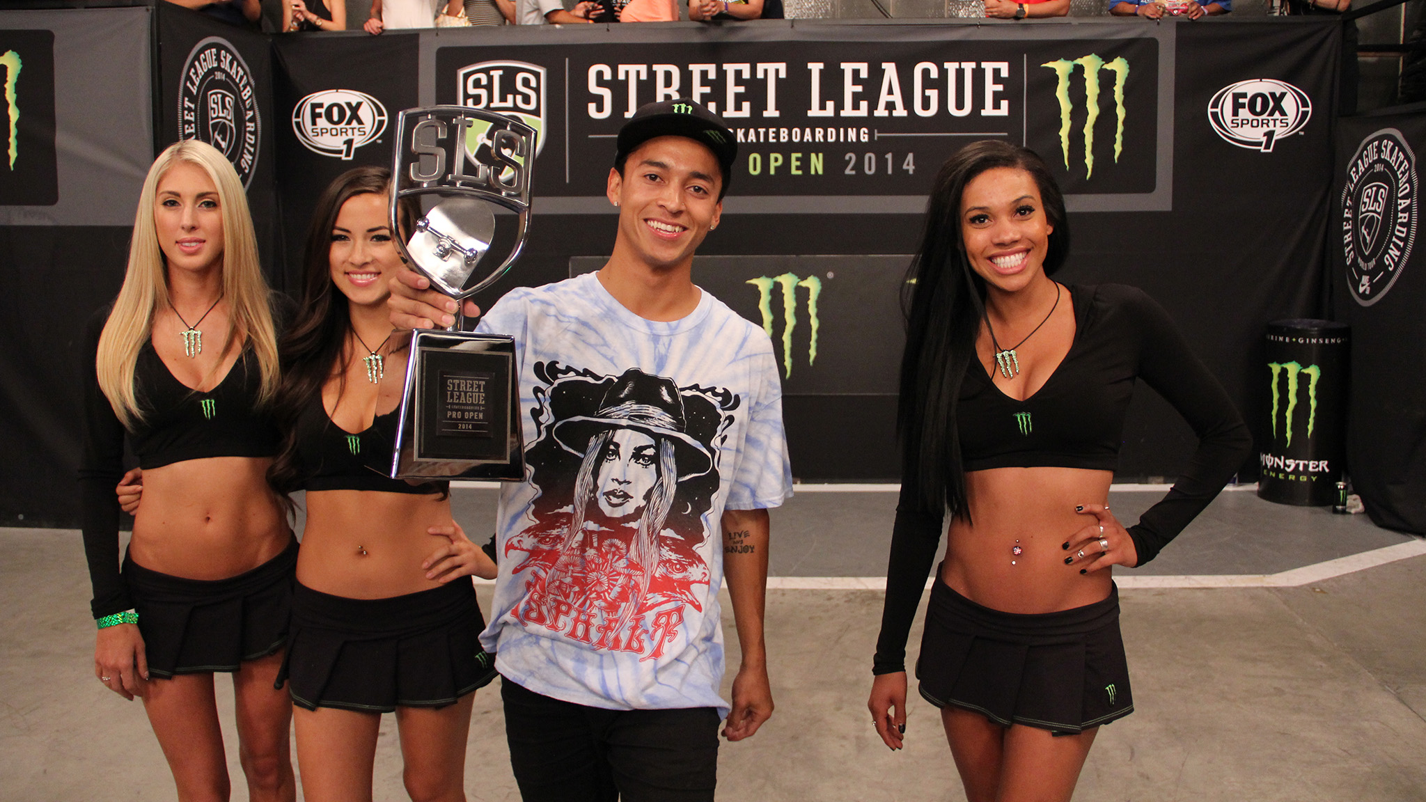 Nyjah Huston, winner