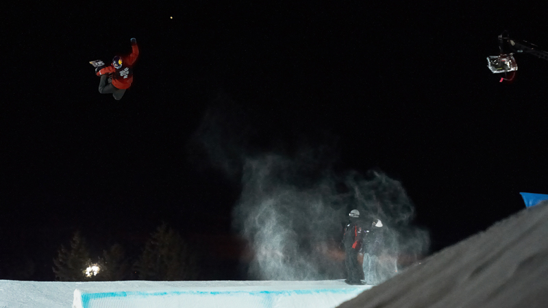 In addition to winning his first-ever Big Air gold with the first-ever triple cork 1440 thrown in competition, McMorris rode away with a slopestyle gold at X Games Aspen 2012 as well.