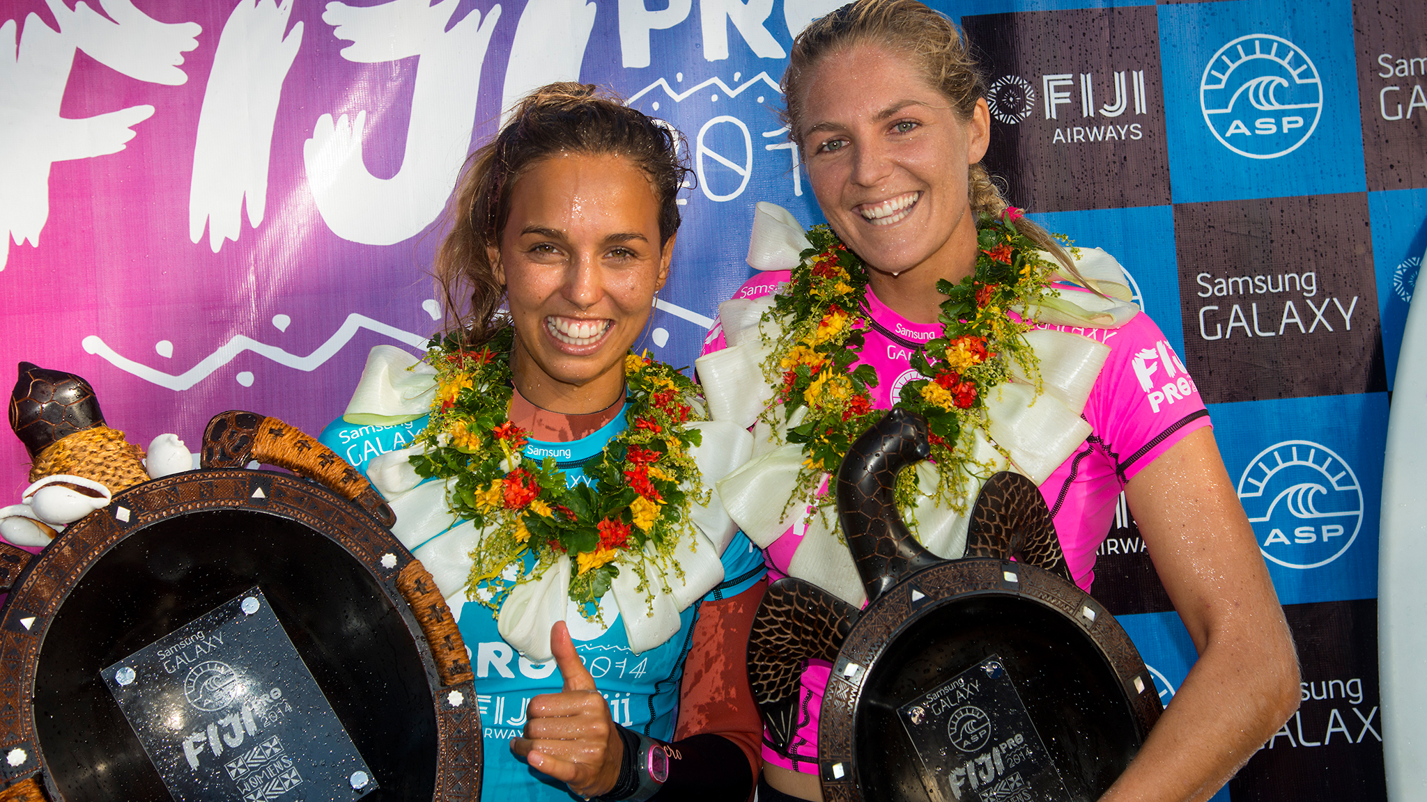 Sally Fitzgibbons, Stephanie Gilmore