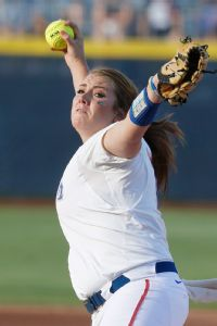 Lauren Haeger, and not ace Hannah Rogers, got the start for Florida in Game 2.