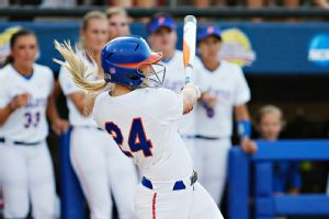 Kirsti Merritt's three-run homer in the second inning put Florida in command.