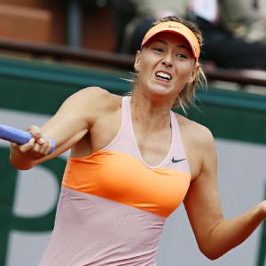 Maria Sharapova outlasted Eugenie Bouchard in three sets to reach her ninth singles final in a Grand Slam event.