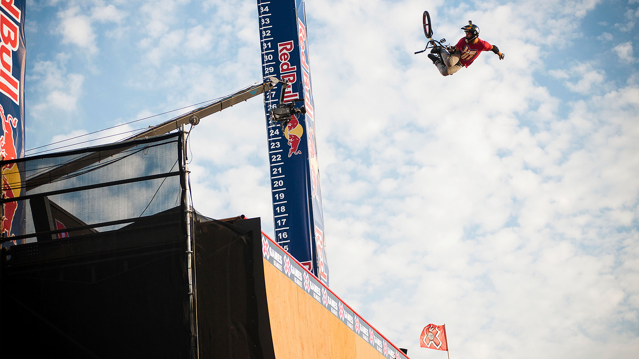 Morgan Wade won his first X Games gold in BMX Big Air last year in Los Angeles.