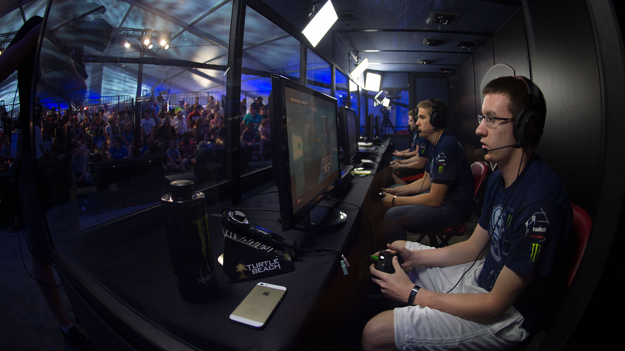 In a first for an X Games, video gamers competed for actual medals in a Call of Duty: Ghosts tournament hosted by Major League Gaming at X Games Austin. brbrInside a tent in the festival area, gamers threw virtual bombs, fired animated bullets and coordinated attacks in frenetic team matches.