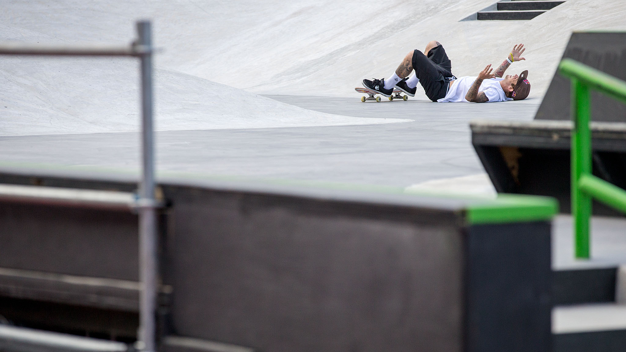 Ryan Sheckler was the top qualifier in Friday's elimination round but had a tougher time on Sunday. His last Round 1 run earned him the last qualifying spot into the six-man final, but he ultimately finished just off the podium behind Nyjah Huston, Luan Oliveira and X Games rookie Alec Majerus.