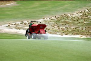 There will be very little time from the end of the men's tournament to prepare the course for the women.