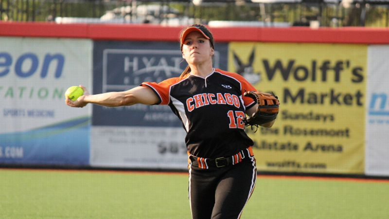 Bandits third baseman Amber Patton is just one of 15 players on NPF rosters with at least five seasons of experience in the league.
