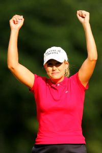 Cristie Kerr won the U.S. Women's Open in 2007 at nearby Pine Needles.