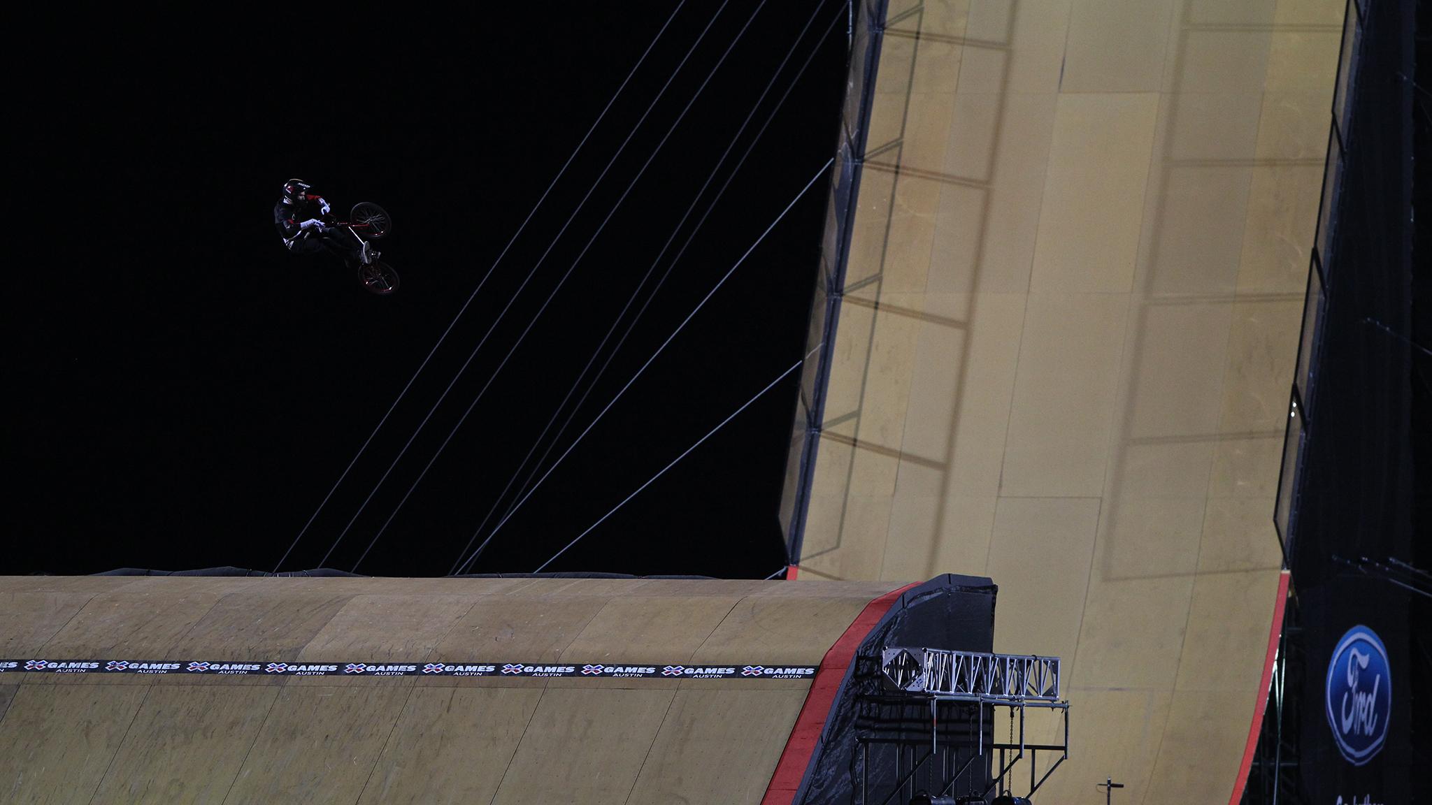 BMX Big Air -- Colton Satterfield