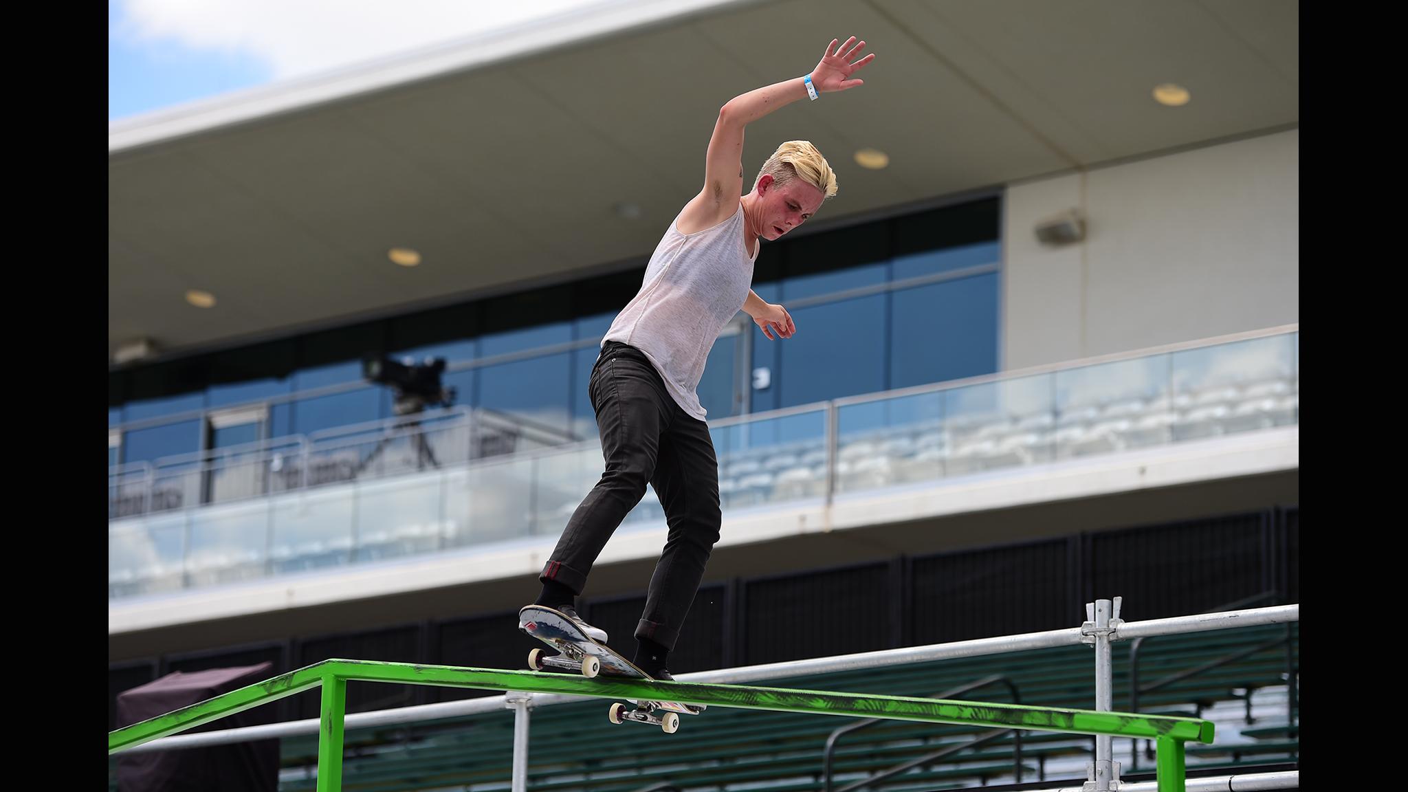 Women's Skate Street -- Lacey Baker