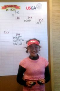 The youngest U.S. Women's Open qualifier at age 11, Lucy Li seems unfazed about the crowds she'll face.