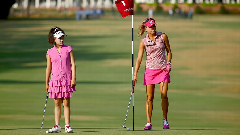 Lucy Li is 11, and she'll be teeing off at Pinehurst today in the U.S. Women's Open. In honor of Throwback Thursday, we look back at the teenage debuts at the storied major of Lexi Thompson, Michelle Wie and Morgan Pressel.