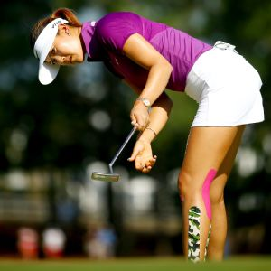 With solid ball-striking and immensely improved putting, Michelle Wie is in control of her game.