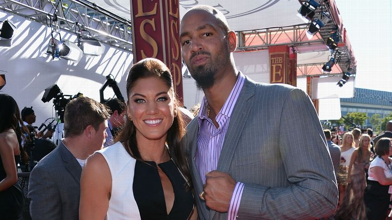 On Nov. 12, 2012, former Seattle Seahawks and University of Washington tight end Jerramy Stevens was arrested for investigation of assault in an incident that left Hope Solo injured. No charges were filed and Stevens was released. The following day, Stevens and Solo -- reportedly together since mid-August 2012 -- got married.