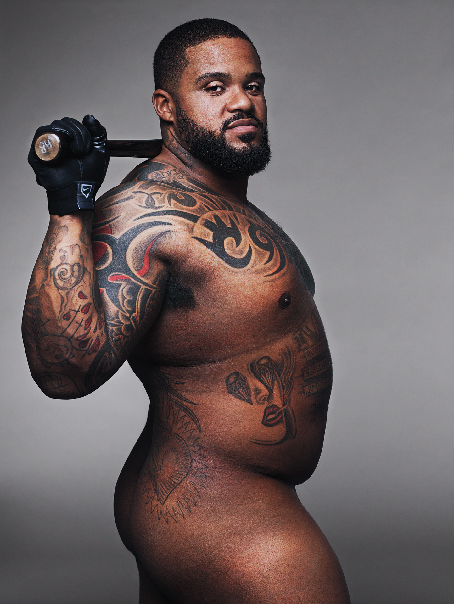 Prince Fielder, ESPN Bodies We Want, Baseball, Prince Fielder Naked, Prince Fielder Nude