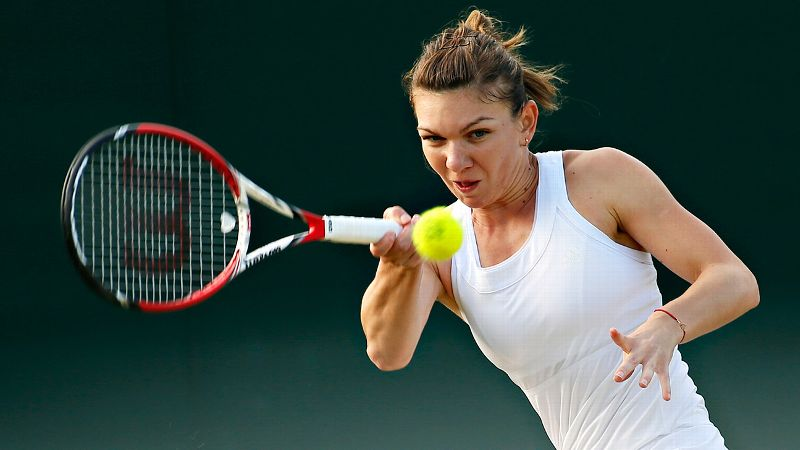 She's the highest seed remaining at No. 3 and is coming off a runner-up finish at the French Open. Prior to this year, her best result at Wimbledon was the second round. The 22-year-old from Romania was named the WTA's most improved player in 2013.